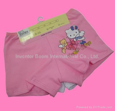 Girl Boxer  Girl Cotton Underwear Shorts Flat Briefs  3