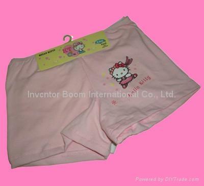 Girl Boxer  Girl Cotton Underwear Shorts Flat Briefs  4