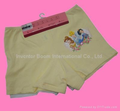 Girl Boxer  Girl Cotton Underwear Shorts Flat Briefs  5