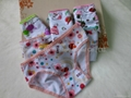 New Girls' Cotton Brief Cute Cartoon
