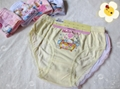 2014 Girls' Cotton Brief Cute Cartoon Printing OEM Welcome