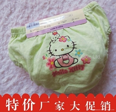 2014 Girls' Cotton PP Brief Cute Cartoon Printing Underpants