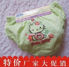 2014 Girls' Cotton PP Brief Cute Cartoon Printing Underpants