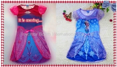 Frozen Girls Dress 2014 Summer Frozen Dress Princess Frozen Elsa, Frozen Anna
