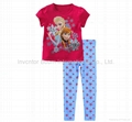 Frozen Clothing Set Princess Frozen Pajama Kids Sets Frozen Elsa & Anna