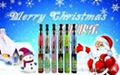 Christmas Gift Electronic Cigarette With Removable Interchangeable Atomizer Head 1