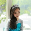 Frozen Anna Tiara Crown Plum Hair Jewelry Anna Crystal Fashion Headband