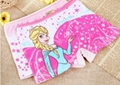 Girl Frozen Boxer Panties Girl Cotton