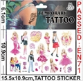My Little Pony Tattoo Stickers Waterproof Henna Stickers Summer Beauty Stickers