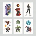 Despicable Me Spiderman Zootopia Thomas KittyTattoo Stickers Waterproof Stickers