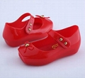 Chaussure Fille Promotion Embossed Rubber Elsa Shoes New 2016 Mini Melissa Shoes