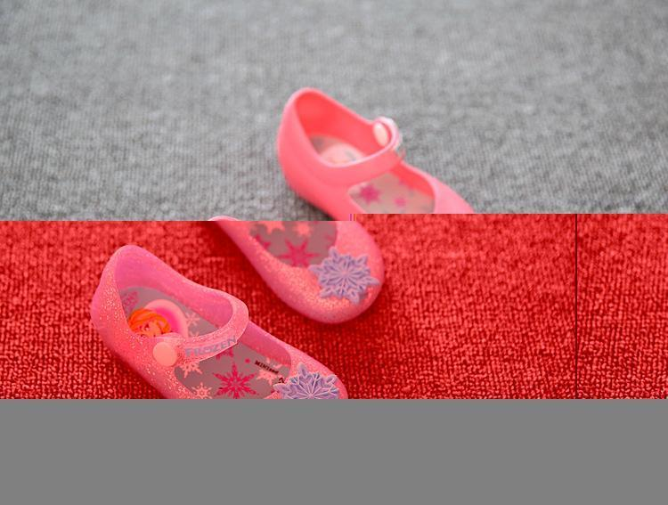 Mini Melissa Girls Sandals Summer style kids shoes Cute Bow Children Bowtie Baby 4