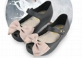 Mini Melissa Girls Sandals Summer style kids shoes Cute Bow Children Bowtie Baby 14