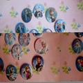 4.5cm Cartoon Badges Tin Pin Plastic Badges Tinplate Plastic Badge