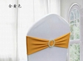 100pcs/lot Spandex Lycra Wedding Chair Cover Sash Bands Wedding Party Birthday