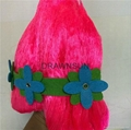 Trolls Poppy Wig For Kids 36cm Wig Children Cosplay Party Supplies