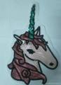 Sequins Unicorn Sew On Patches For Clothes Jeans Embroidered Patch Motif Appliqu