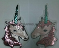 Sequins Unicorn Sew On Patches For Clothes Jeans Embroidered Patch Motif Appliqu 7