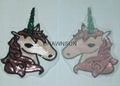 Sequins Unicorn Sew On Patches For Clothes Jeans Embroidered Patch Motif Appliqu 8