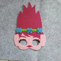 Kids Cosplay Trolls Party Forest Mask Birthday Easter Halloween Party Cosplay