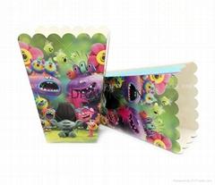 Trolls Popcorn Box Trolls Party Supplies Cookie Box Poppy Kids Party Decorations