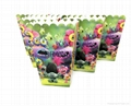 Trolls Popcorn Box Trolls Party Supplies Cookie Box Poppy Kids Party Decorations