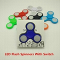 LED Fidget Spinner High Quality Hand Spinner For Autism and ADHD Rotation Time