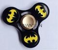 Batman Spiderman Flash Ironman Cartoons Metal Tri-Spinner Fidget Hand Spinner