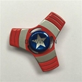 Cartoon Captains Design Fingertips Gyro Metal Spiderman Ironman Hulk Spinners