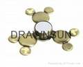 Mickey Shape Fidget HandSpinner Alloy Cartoon Spinning Top Gyro Toys Metal Finge 2