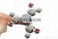 Mickey Shape Fidget HandSpinner Alloy Cartoon Spinning Top Gyro Toys Metal Finge