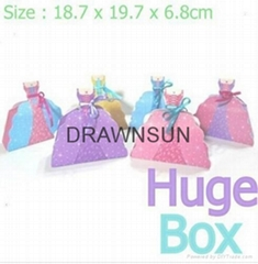 First Birthday Party Princess Dress Shaped Goodies Boxes Wedding Candy Bags