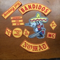 Motocycle Club Jacket Jeans BANDIDOS MC Embroidered Patches Jacket Iron On Patch