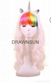Cosplay My Little Pony Rainbow Dash Multi Color Heat Resistant Synthetic Hair