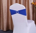 Spandex Lycra Wedding Chair Cover Sash Bands Wedding Party Birthday Chair Decora