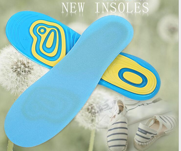 Silicone Gel Insoles Foot Care for Plantar Fasciitis Heel Spur Sport Shoe Pad  4