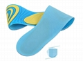 Silicone Gel Insoles Foot Care for Plantar Fasciitis Heel Spur Sport Shoe Pad  5