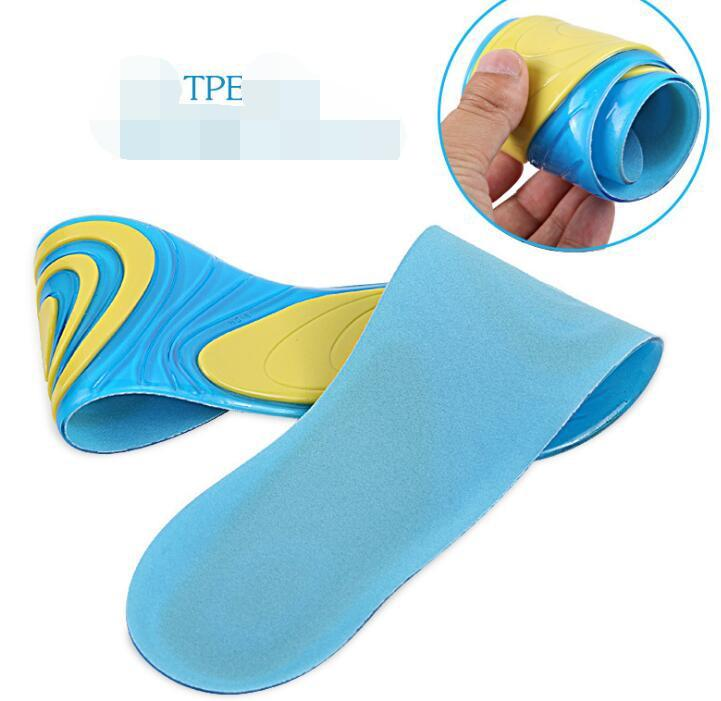 Silicone Gel Insoles Foot Care for Plantar Fasciitis Heel Spur Sport Shoe Pad  10