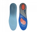 New Silicone Gel Insoles Orthopedic Massaging Shoe Inserts Shock Absorption Shoe