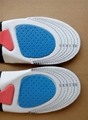 Adult Sport EVA Insoles Shock Absorption Pads Running Sport Shoes Inserts