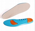 Dedicated Diabetes Foot Shock Absorber Insoles For Men Women Sweat-resistant