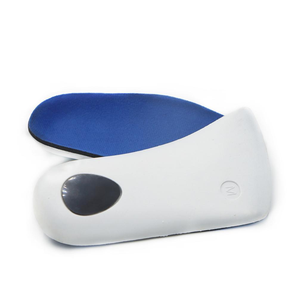 Unisex 3/4 Length Orthopedic Orthotics Arch Support Shoe Insoles Pad Cushion  1