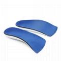 Unisex 3/4 Length Orthopedic Orthotics Arch Support Shoe Insoles Pad Cushion  5