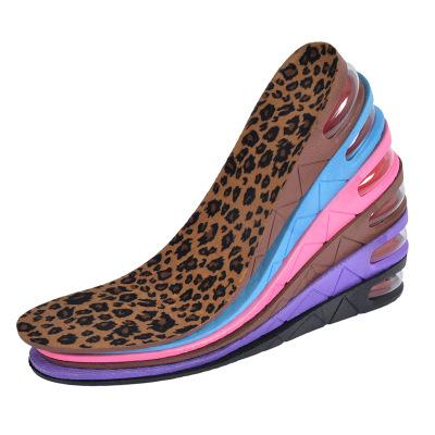Height Increase Adult Insole Adjustable 3-Layer 7CM Air Cushion Invisible Pads  4