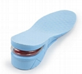 Height Increase Adult Insole Adjustable 3-Layer 7CM Air Cushion Invisible Pads  6