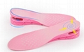 Height Increase Adult Insole Adjustable 3-Layer 7CM Air Cushion Invisible Pads  8