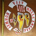 Hells Angels OEM Patches MC Twills Motorcycle Club Patches For Vest Jacket Cloth