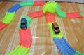 360Pcs Slot Magic Track Glow in the Dark Create A Road Bend Race Flexible Track
