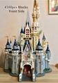 The Cinderella Princess Castle City Compatible Blocks Brick 4160pcs Model