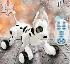 Boys Girls Gifts RC Walking Dog 2.4G Wireless Remote Control Smart Dog Electroni